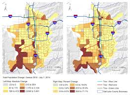 Utah Counties Map Analysis Of Neighborhoods U0027 Housing Identifies Areas Of Population