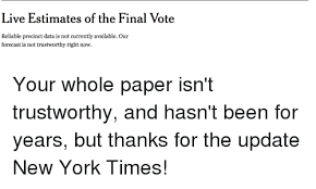new york times forecast dial in geotus we trust all others must bring data data meme on me me