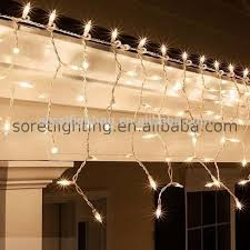 pink purple outdoor christmas icicle lights customized size led