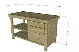 kitchen furniture plans 13 free kitchen island plans for you to diy