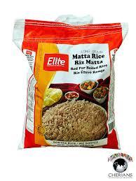 r ilait cuisine elite matta kerala rice 22lb cherians inc