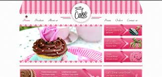 call for cake website has a great web design best web designs
