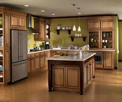 Glazed Kitchen Cabinet Doors Glazed Maple Kitchen Cabinets Design Home Decor And Design