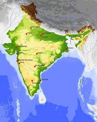 geography map geography of india