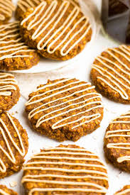 healthy pumpkin spice latte oatmeal cookies amy u0027s healthy baking