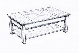 coffeetablesketches table design sketches