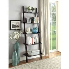 home decor free shipping leaning bookcase diy home decor wood free shipping today espresso