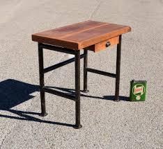 mini bureau petit meuble bureau petit bureau vintage bleu pour enfant with