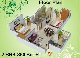 Floor Plans For Houses In India 850 Sq Ft 2 Bhk 2t Apartment For Sale In Charms India Castle Raj