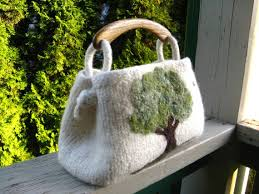 knitting chair green tree bag creative finds