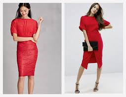 red dress for every holiday party the chic research