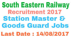 exam pattern of goods guard railway south eastern recruitment 2017 for station master goods