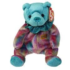 ty beanie baby december birthday bear 7 5 bbtoystore