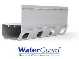 waterguard interior basement drainage system