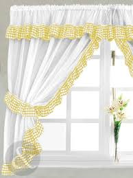 awesome yellow kitchen curtains home interior design photos gallery