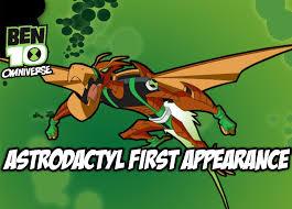 ben 10 omniverse astrodactyl appearance