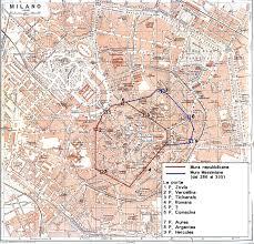 milan finally lost path of the roman walls of milan