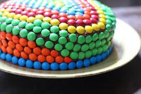 17 apart kids u0027 birthday cake idea decorating with m u0026m u0027s