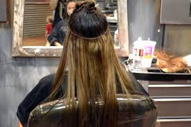 sew in hair extensions how to put in weft hair extensions