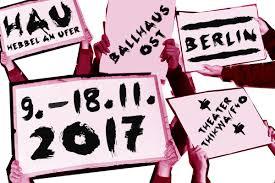 Hau Berlin No Limits Internationales Theaterfestival Berlin