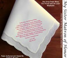 Gifts To Give The Bride From The Maid Of Honor Matron Of Honor Gift Etsy