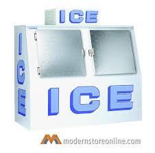 polar temp outdoor door merchandiser 600ad 72 x 35