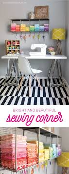 corner sewing table plans 245 best sewing craft rooms images on pinterest craft rooms