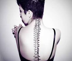 realistic spine tattoo design of tattoosdesign of tattoos