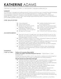 Best Project Manager Resume Sample by Clinical Trial Manager Resume Free Resume Example And Writing