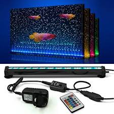 color changing led fish tank lights newnen fish tank light waterproof aquarium lights remote control