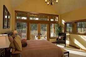Master Bedroom Double Doors Grand Fir Lodge In Suncadia