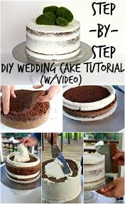 wedding cake tutorial diy wedding cake tutorial and events diy