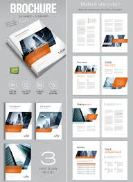 letter size brochure template brochure template for indesign a4 and letter amann