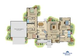 Design Tech Homes by The Summerhill U2013 1400 Sq Ft Custom House Plans Design Tech Homes