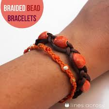 braided bead bracelet diy images Diy braided bead bracelets diy craft room jpg