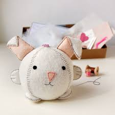 make your own rabbit craft kit by clara and macy