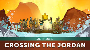 sunday lesson for kids crossing the jordan river joshua