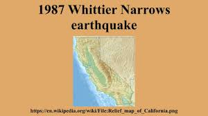Earthquake Los Angeles Map by 1987 Whittier Narrows Earthquake Youtube