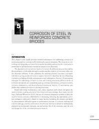 5 corrosion of steel in reinforced concrete bridges design guide