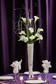 centerpiece rental calla with branches centerpiece rental weddings sweet 16
