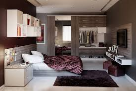 modern bedroom design for small space my home design