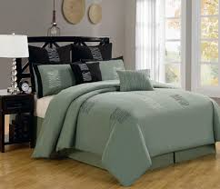 decor bed comforter sets queen with green pillows queen beds