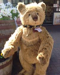 Teddy Bear Delivery This Handsome Boy Caretaker Arrived In Yesterday U0027s Charlie Bears