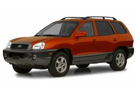 2003 hyundai santa fe new car test drive