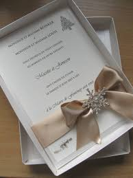 boxed wedding invitations themed luxury boxed wedding invitation large diamante snowflake