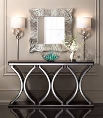 console table and mirror set best 25 silver console table ideas only on pinterest hallway within