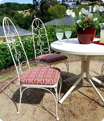 D J Patio Furniture Repair A Bistro Set Makeover With An Unexpected Surprise Centsational Style