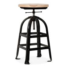 Industrial Bar Stool With Back Home Decor Alluring Industrial Barstool Perfect With Stools Metal
