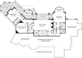 walkout basement floor plans hillside walkout house plans houseplansblog dongardner