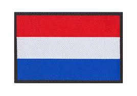 Flag Of Netherlands Netherlands Flag Patch Color Identification Equipment